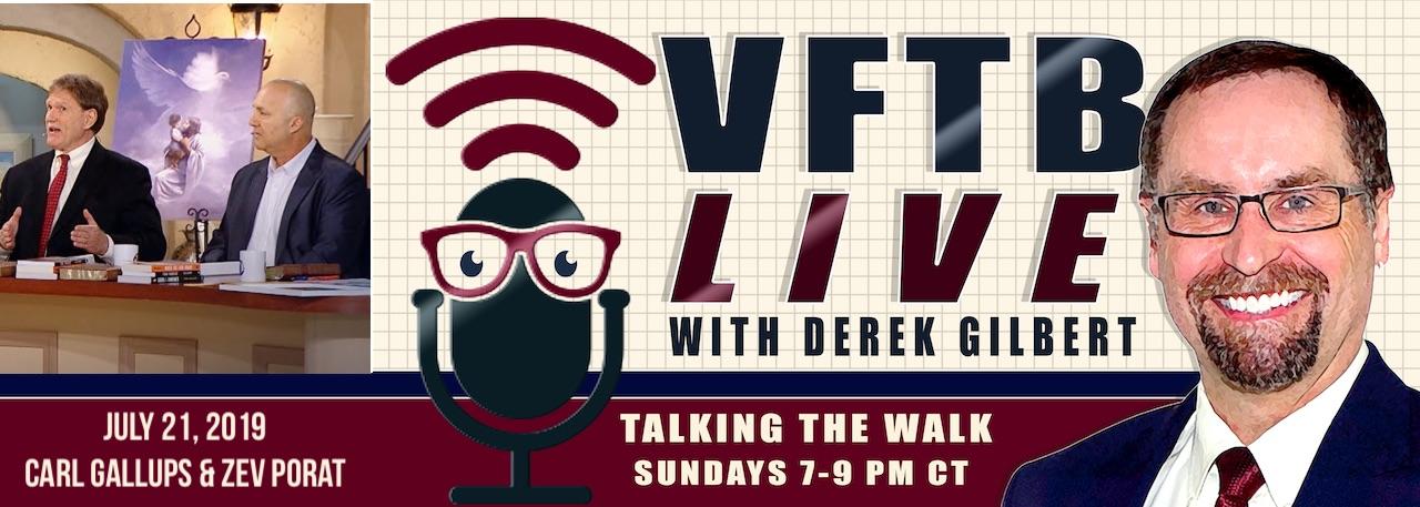VFTB Live: Pastor Carl Gallups & Rabbi Zev Porat